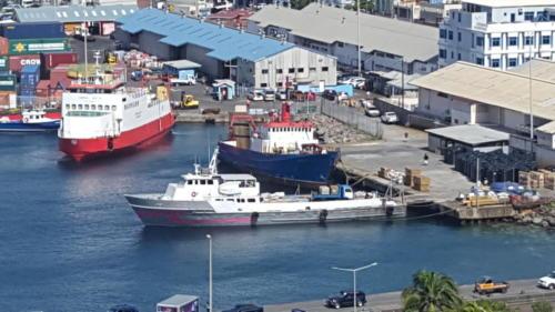 Kingstown Main Port Habour
