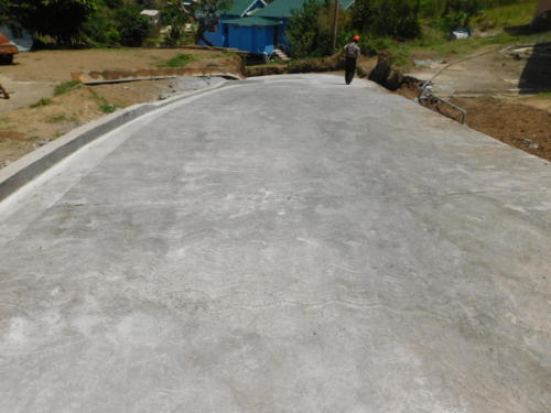 Concrete Road Construction Works